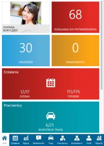 Aplikacje mobilne - kierownik sprzedaży