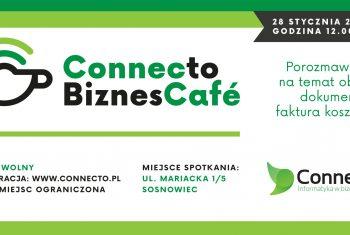 Zaproszenie connecto cafe