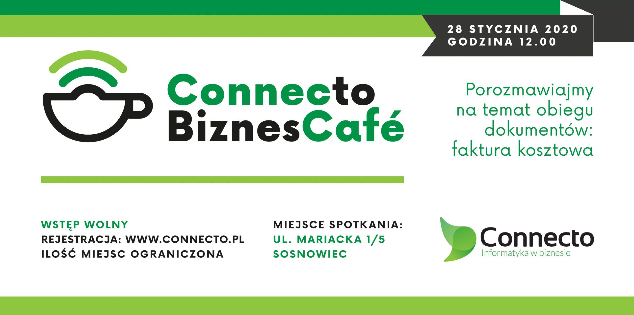Ruszają spotkania Connect to Biznes Cafe. Na początek obieg dokumentów